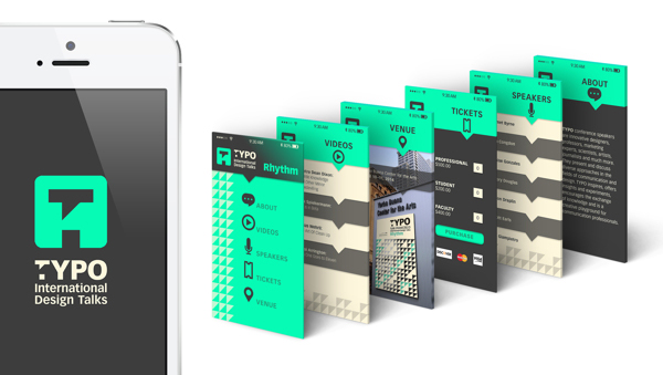 Mobile App Design Inspiration TYPO International Design Talks