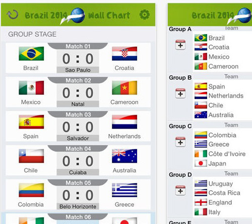11.world cup apps