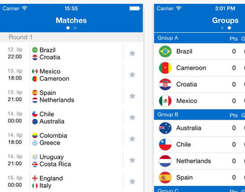 12.world cup apps