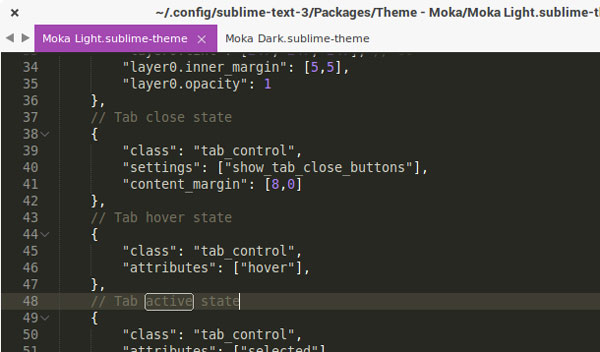 15.sublime text themes