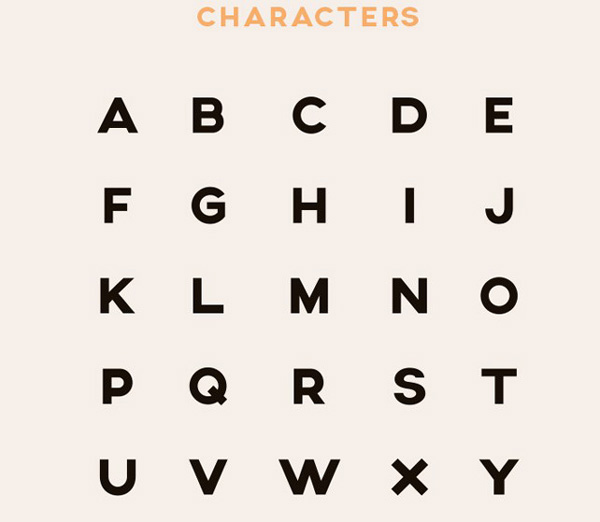 2.Free Font Of The Day  Axis