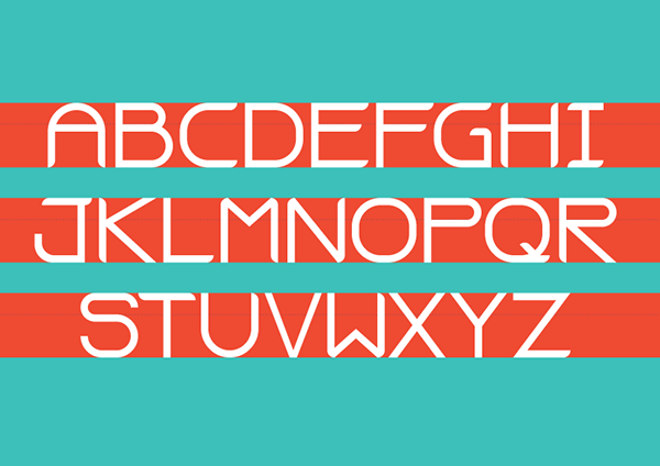 2.Free Font Of The Day  Dickerson Flat