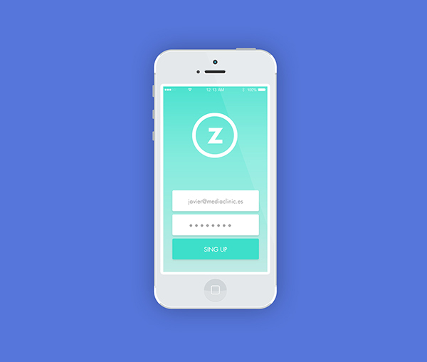 2.Mobile App Design Inspiration – Aulazero