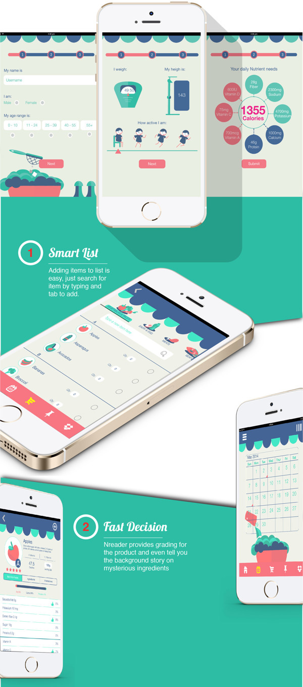 2.Mobile App Design Inspiration – Nreader