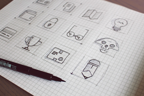2.Wireframe Icons