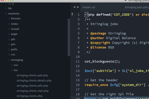 26.sublime text themes