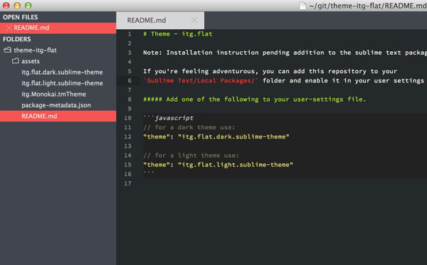 27.sublime text themes
