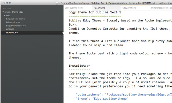 29.sublime text themes