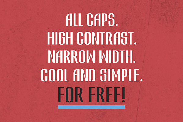 3.Free Font Of The Day  ATVICE