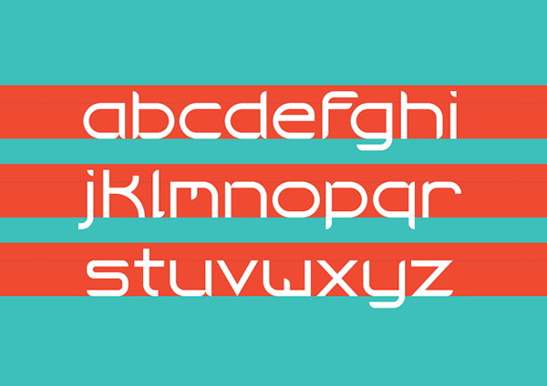 3.Free Font Of The Day  Dickerson Flat