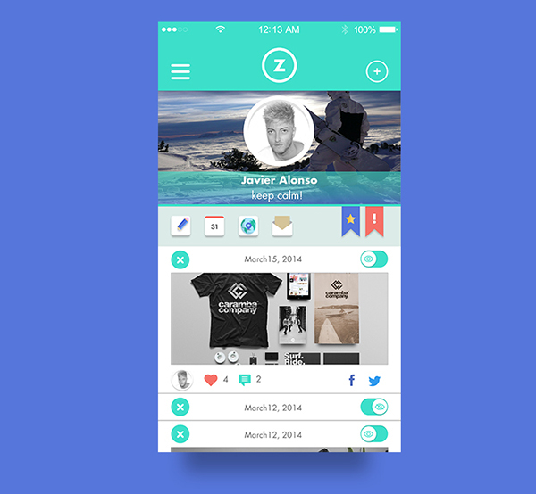 3.Mobile App Design Inspiration – Aulazero