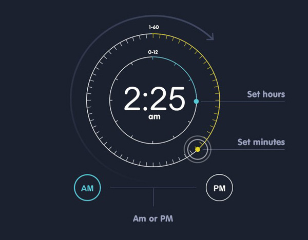 3.Mobile App Design Inspiration – Bed Time