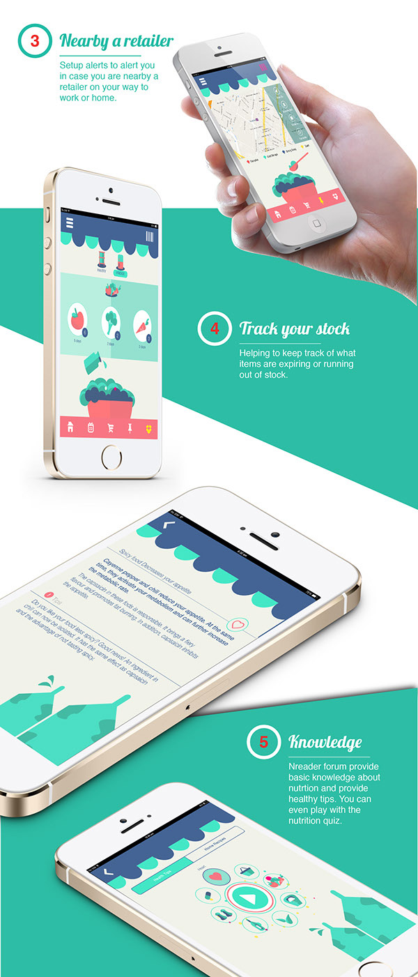 3.Mobile App Design Inspiration – Nreader