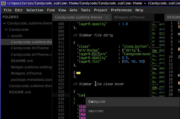 30.sublime text themes