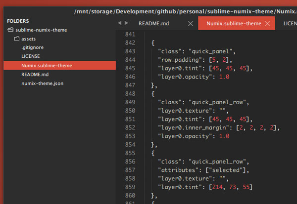 34.sublime text themes