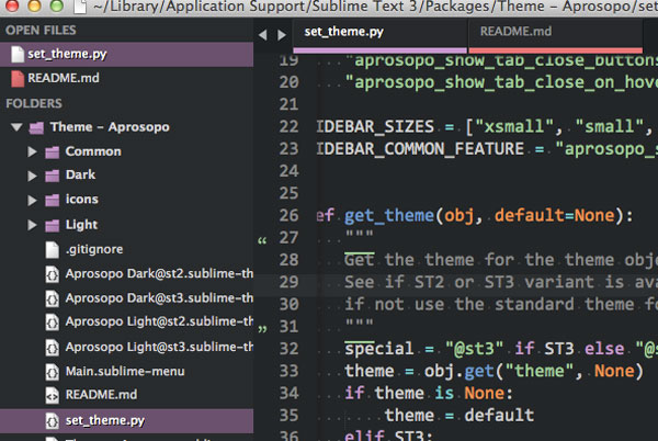 35.sublime text themes