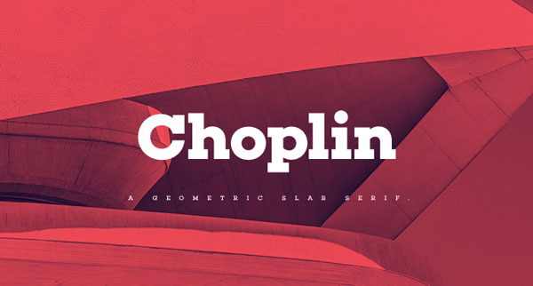 4.Free Font Of The Day  Choplin