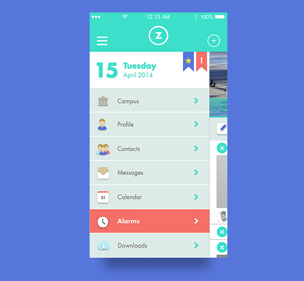 4.Mobile App Design Inspiration – Aulazero