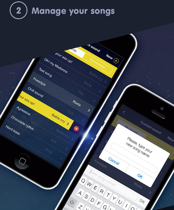 4.Mobile App Design Inspiration – Bed Time
