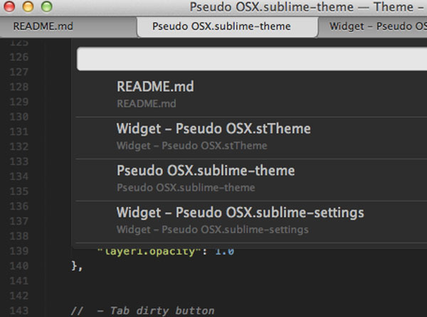 4.sublime text themes