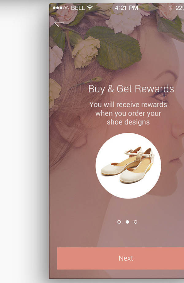 5.Mobile App Design Inspiration – AS Shoe App