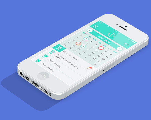 6.Mobile App Design Inspiration – Aulazero