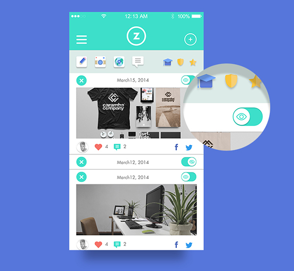 7.Mobile App Design Inspiration – Aulazero