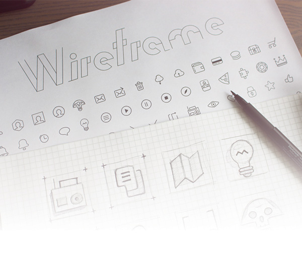 7.Wireframe Icons