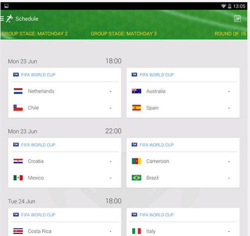 7.world cup apps