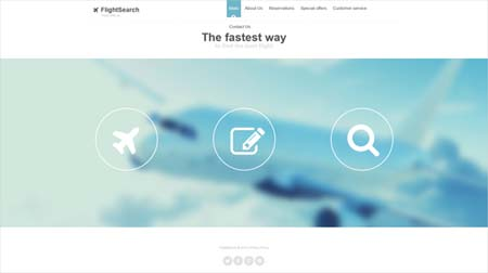 Flight-Search-Website-Design