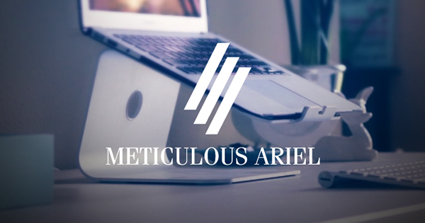 1.Free Font Of The Day  Meticulous Ariel