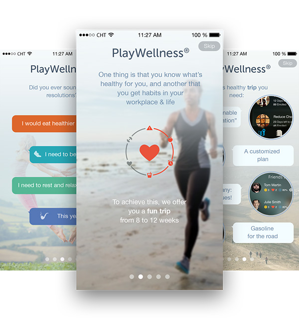 1.Mobile App Design Inspiration – PlayWellness