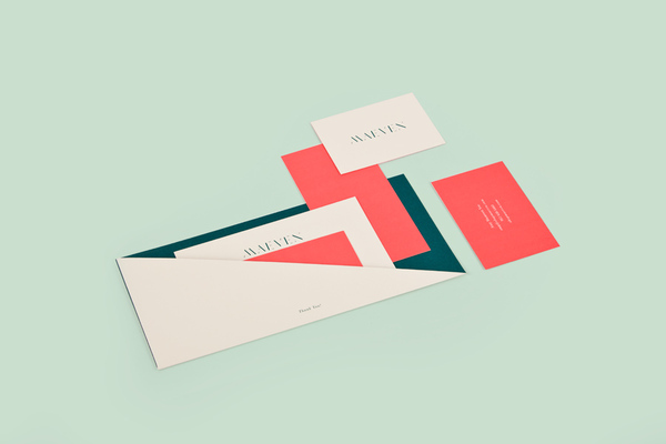 1.Visual Identity and Branding Series  Maeven