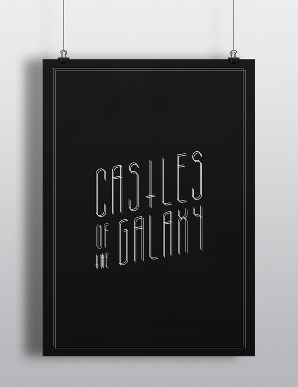 2.Free Font Of The Day  Galacticastle