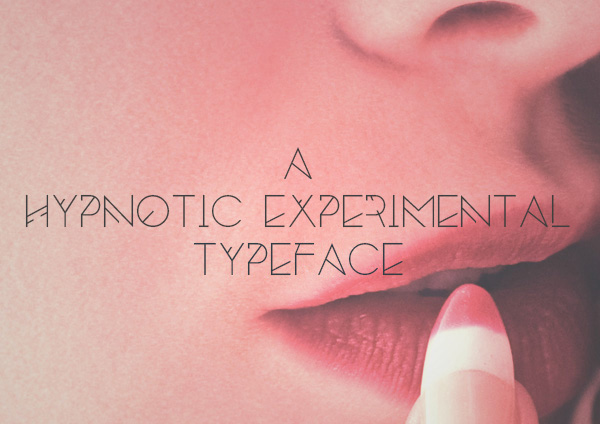 2.Free Font Of The Day  Silent Lips