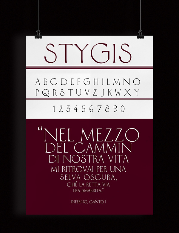 2.Free Font Of The Day  Stygis