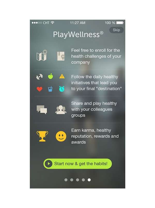 2.Mobile App Design Inspiration – PlayWellness
