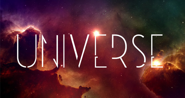 3.Free Font Of The Day  Universe