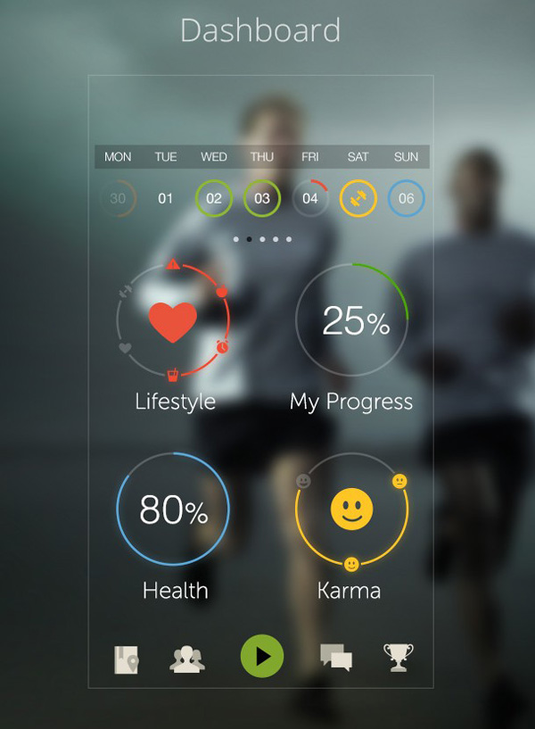 3.Mobile App Design Inspiration – PlayWellness