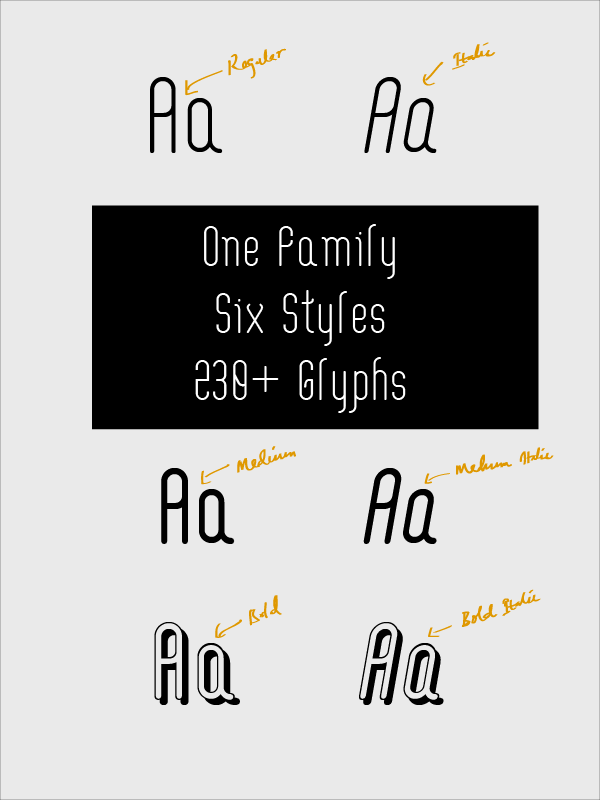 4.Free Font Of The Day  Aaram