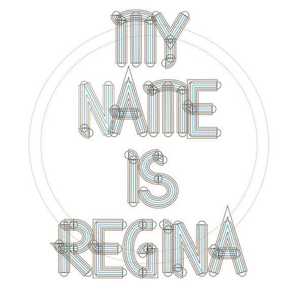 5.Free Font Of The Day  Regina