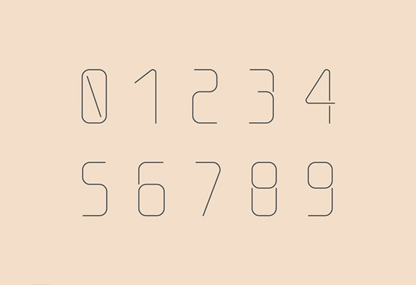 5.Free Font Of The Day  Thin Line