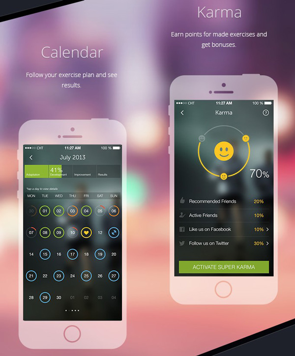 6.Mobile App Design Inspiration – PlayWellness