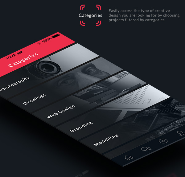 Perfect Mobile App Design Inspiration U2013 Behance Plus Design Inspirations
