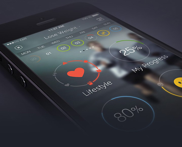 9.Mobile App Design Inspiration – PlayWellness