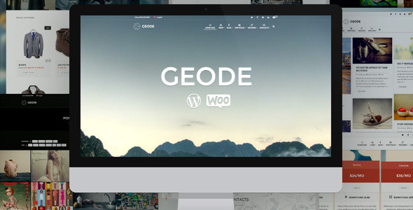 Geode wordpress theme