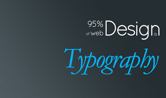 website-typography