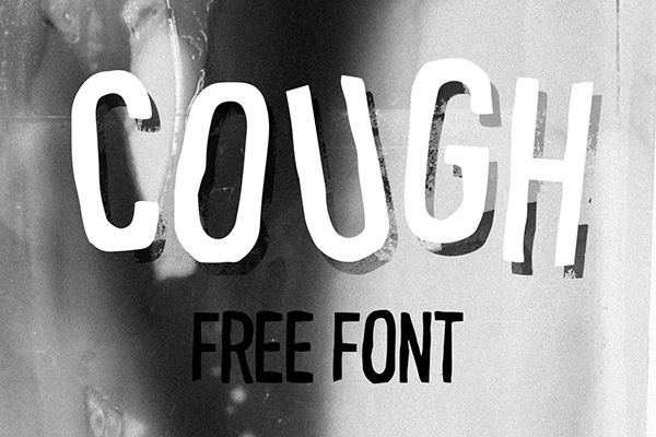 1.Free Font Of The Day  Cough
