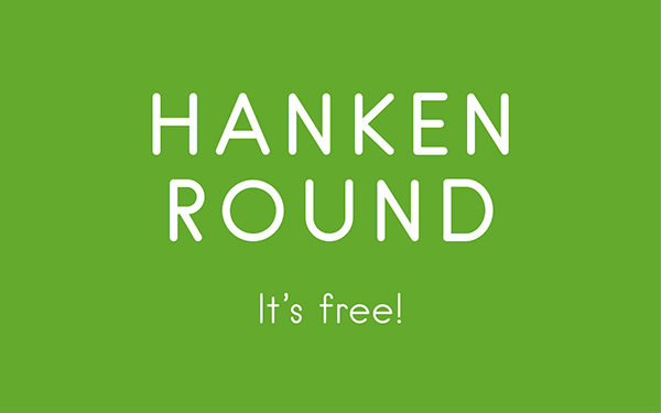 1.Free Font Of The Day  Hanken Round