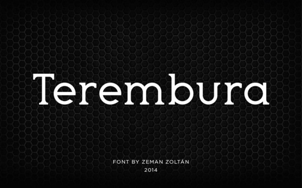 1.Free Font Of The Day  Terembura